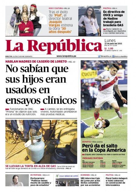 La República 22-06-2015