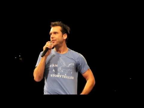 Dane Cook jokes about how people order at the drive throughs at a fast food place  warning: language (but if you know Dane Cook, you were already aware of this ha ha)