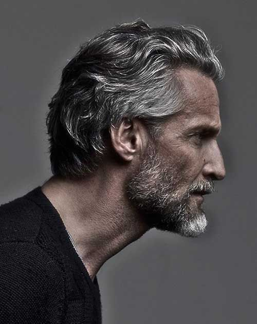 Haircuts For Older Men Older Mens Hairstyles Grey Hair Men Medium Hair Styles