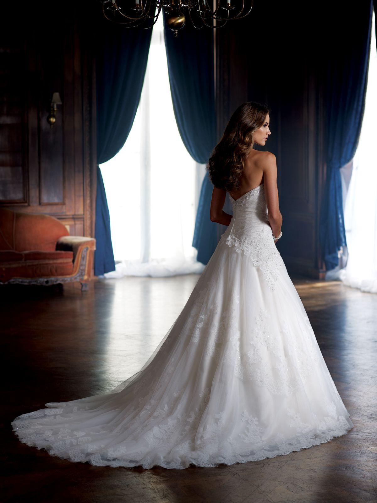 Style No. 213250 » David Tutera for Mon Cheri»wedding dresses 2013 and bridal gowns 2014