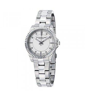 Buy online Latest stuhrling original women's syphony dress watch on Ergode.com