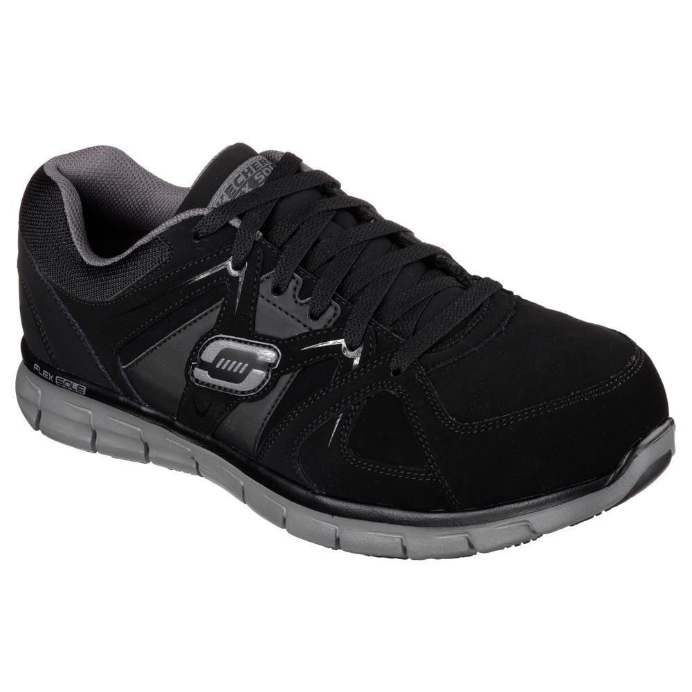 Skechers Men's Synergy Ekron Slip Resistant Athletic Shoes