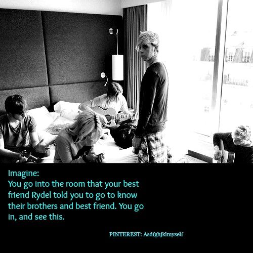 Riker imagine // Rydel told you to know their brothers and best friend