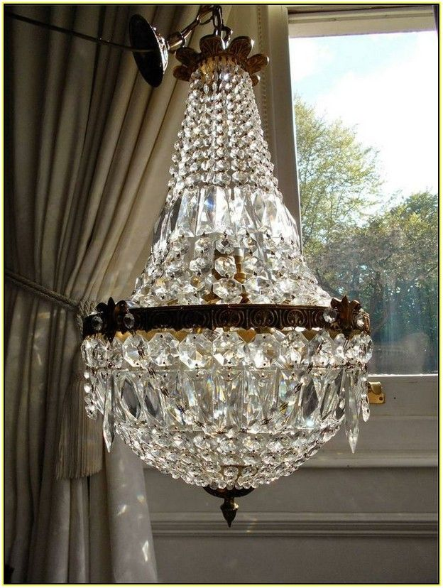 French Empire Chandelier Vintage