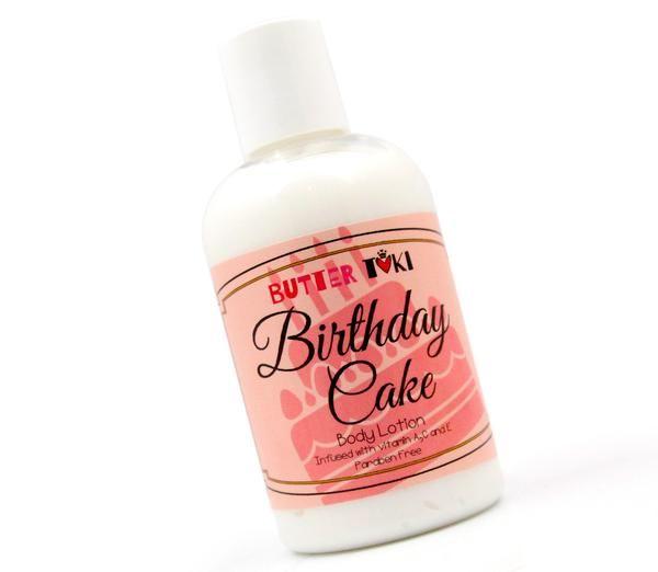 BIRTHDAY CAKE Body Lotion 4oz