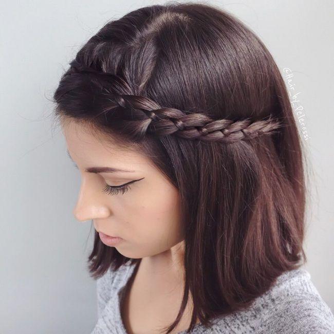 Coiffure Avec Tresse Cheveux Mi Long Tresse cheveux mi