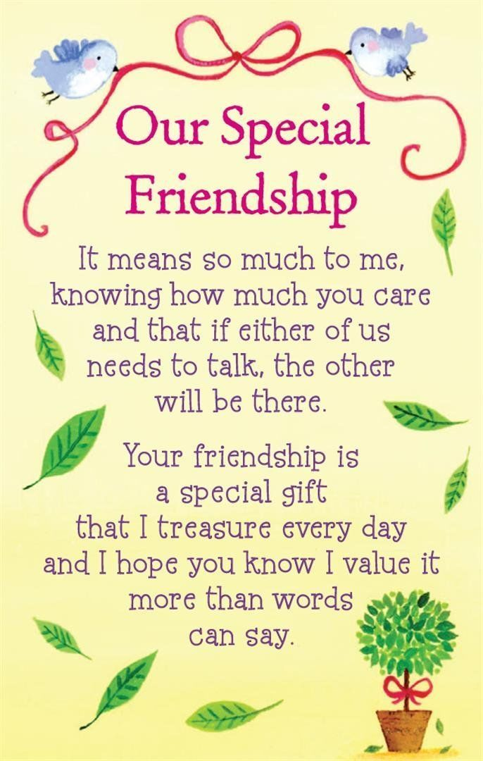 Our Special Friendship friends friendship quotes teddy bear friend