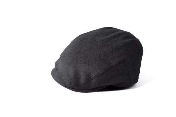 2d192e267 Failsworth Melton Flat Cap - Black | Hats and Caps | Flat cap, Cap, Hats