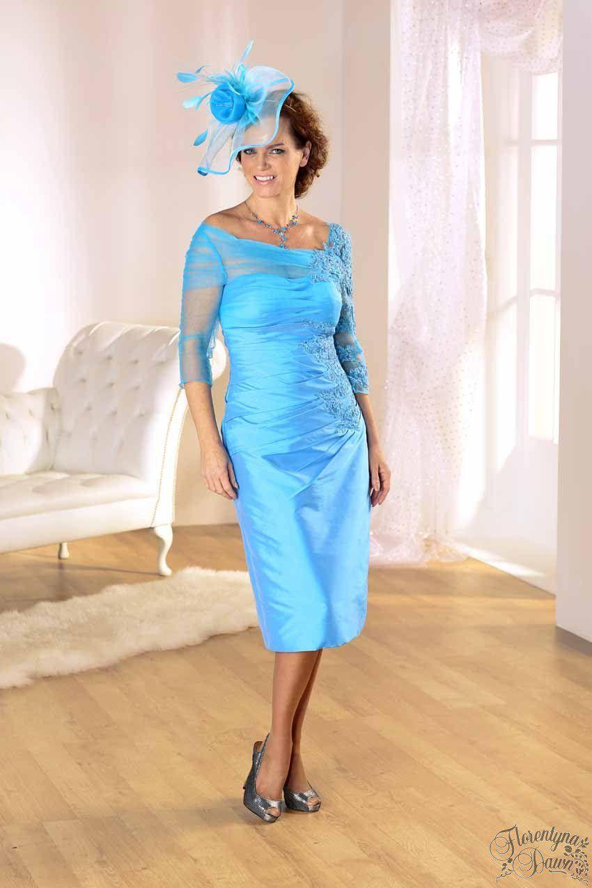 Azure Blue Dress Dresses Blue Dresses Mother Of The Bride Dresses [ 1275 x 850 Pixel ]