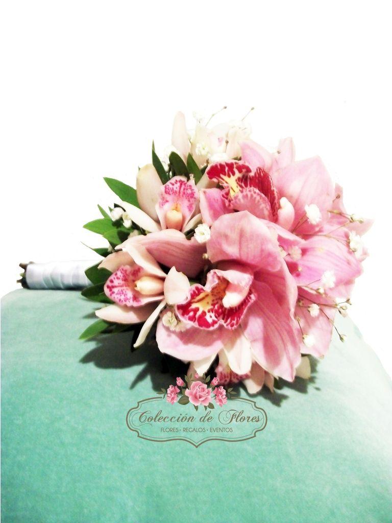 Ramo de novia - Orquídeas   Flores, mariposas y alas   Pinterest ...