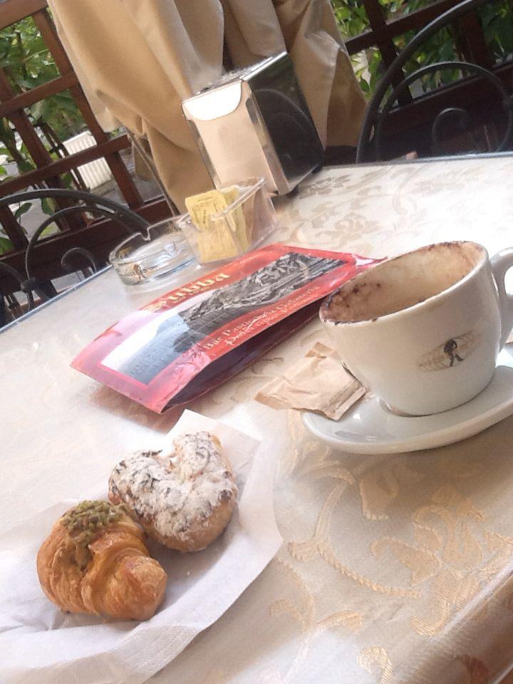 Colazione a Lipari...