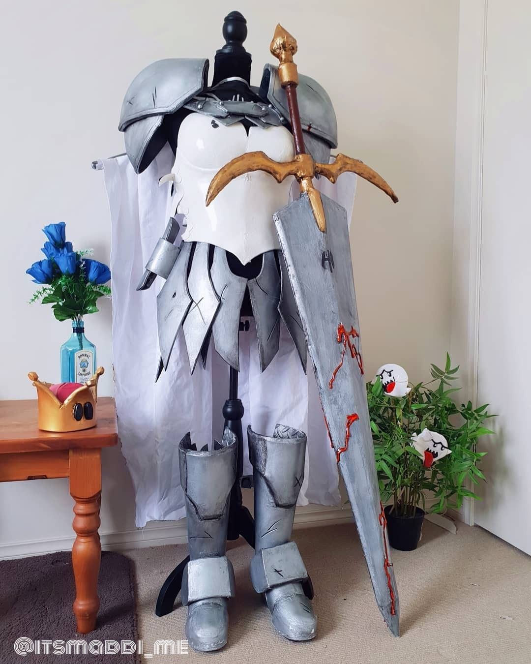 This is my cosplay armor for my claymore outfit Cosplay