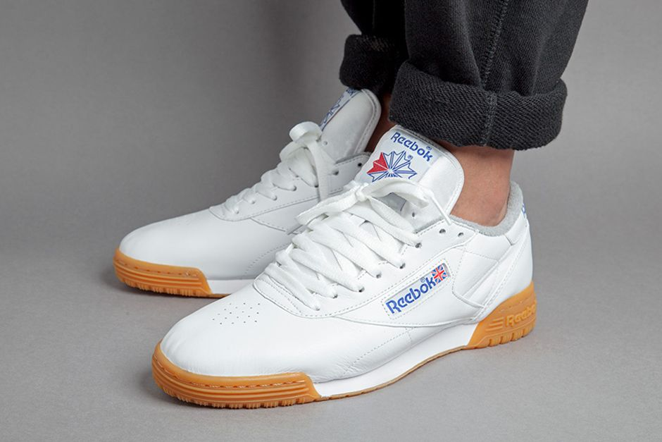 Three Reebok Silhouettes Are Dressed In White Leather Uppers and Gum  Bottoms • KicksOnFire.com