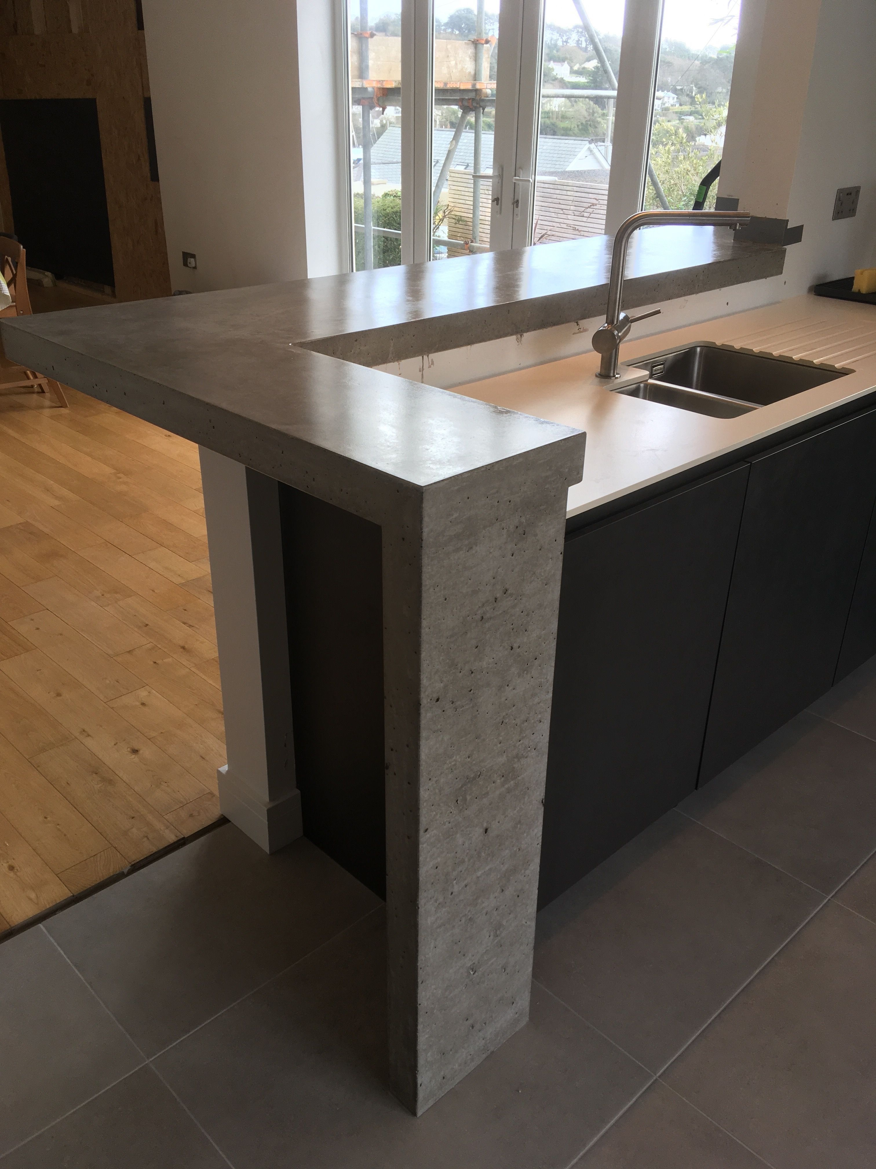Arnolds polished concrete worktops in 2020 polished