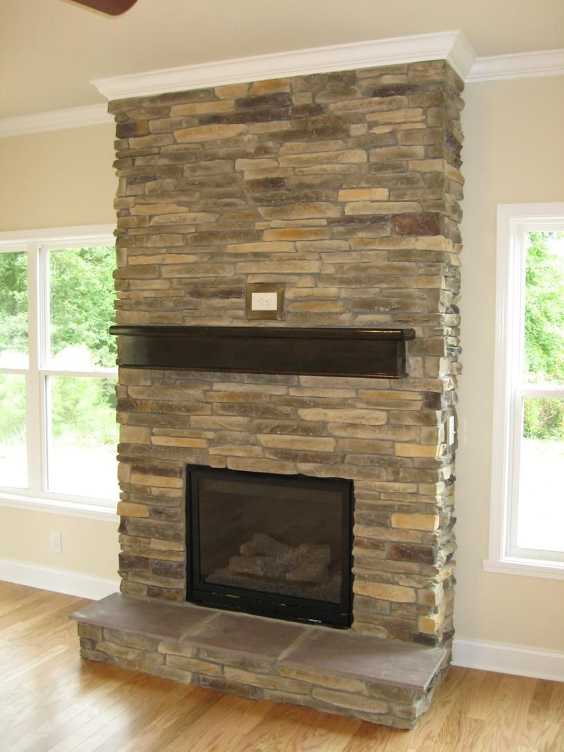 Stone Fireplace Designs Stone Fireplace Dream House
