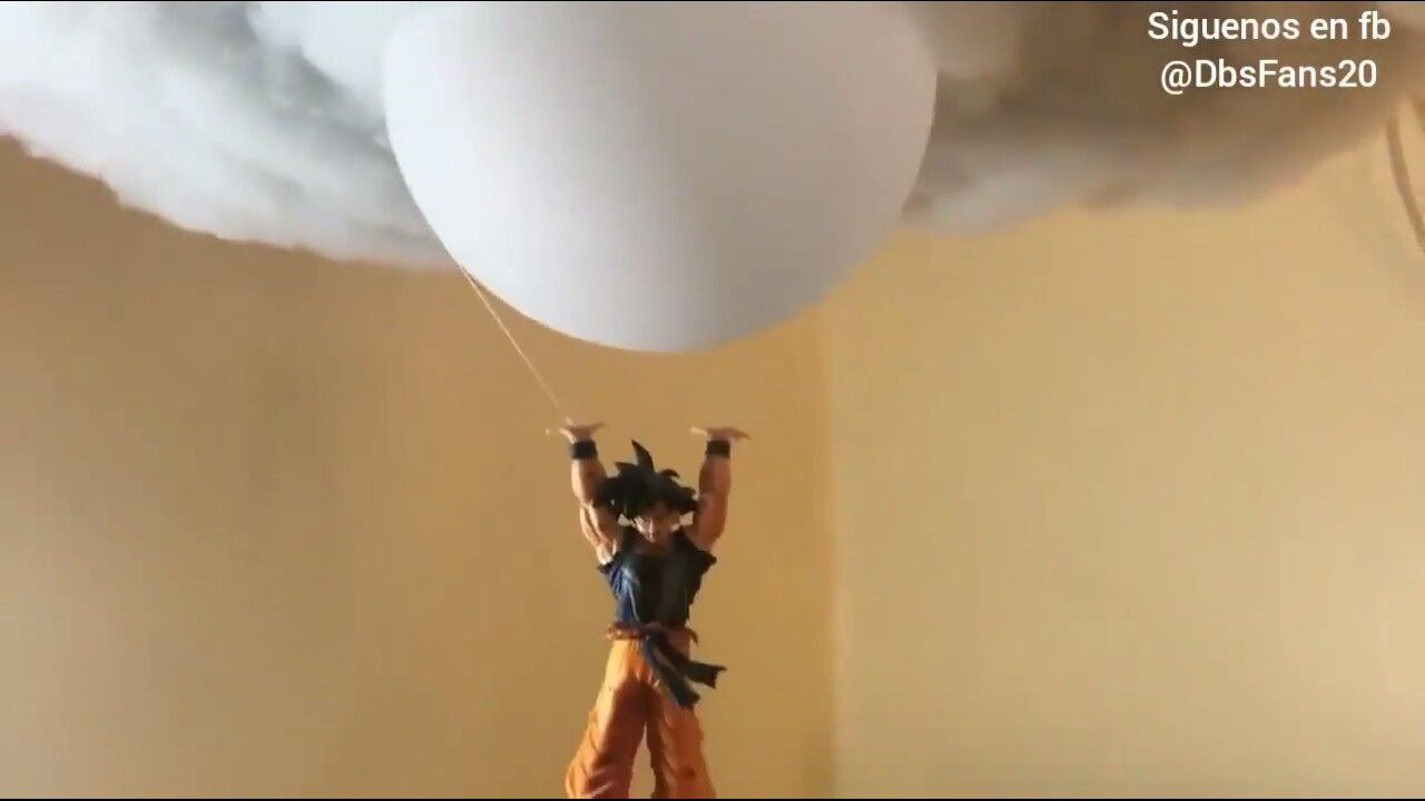 Goku Lampara De Techo Goku Home Diy Dragon Ball