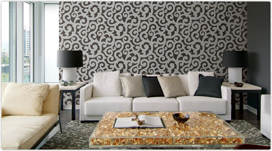 Wallpaper for home decor with ideas Home Decor Interior Design