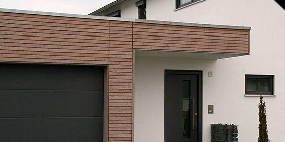 Holzverkleidung Haus trendliner dekorativ entrance fassaden holzfassade