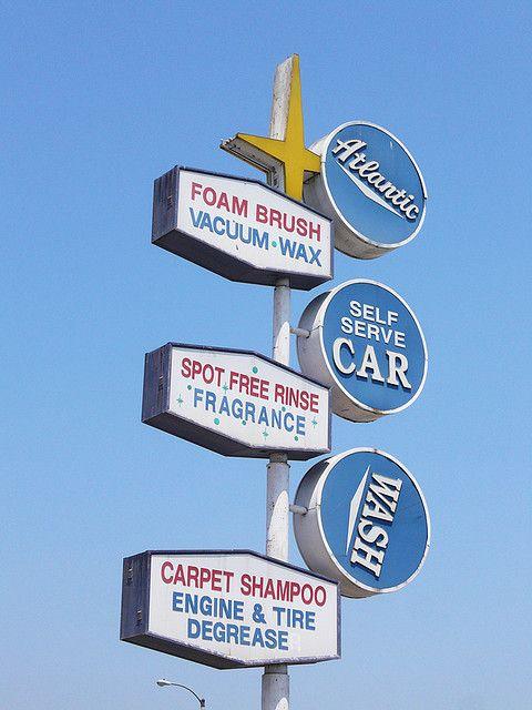Atlantic Car Wash Car Wash Car Wash Sign Business Signs