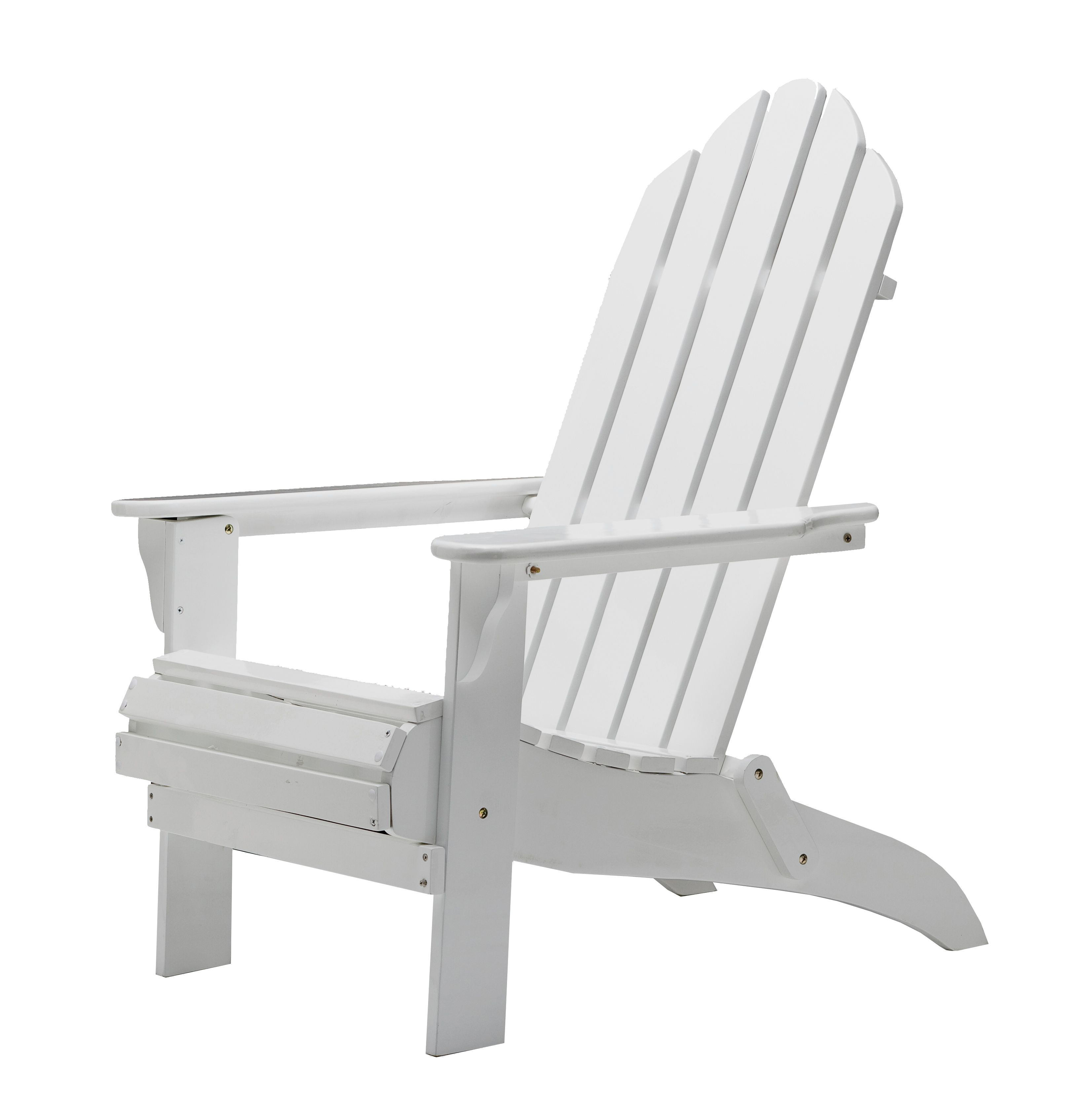 ADIRONDACK CHAIR WHITE Morgan & Finch Bed Bath N Table