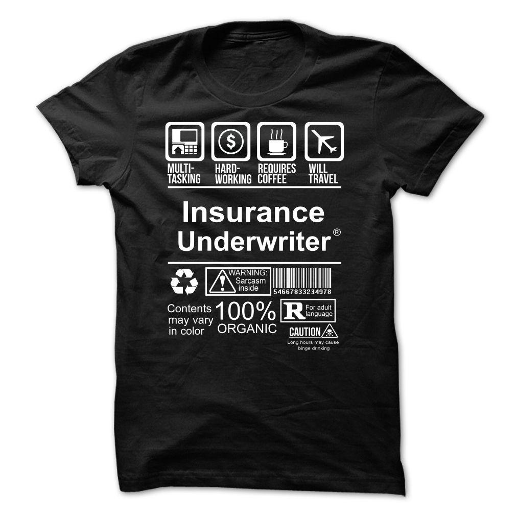 Best Seller Insurance Underwriter T Shirt Hoodie Sweatshirt
