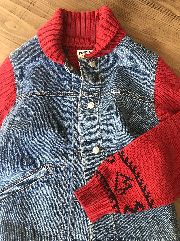 Vintage Pendleton Originals Cowboy Knit Denim Etsy Knit Denim Pendleton Denim [ 3000 x 2250 Pixel ]
