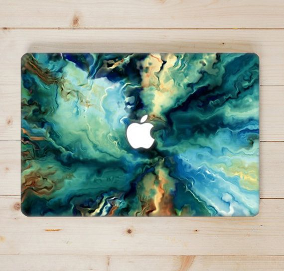 Oil Paint MacBook Case Top and Bottom Hard by
