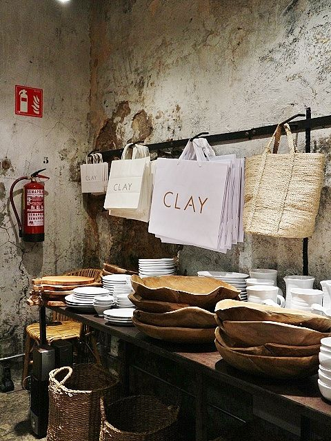 Clay Concept Store Barcelone Photos Atelier Rue Verte Barcelone Magasin Deco Magasins Concept