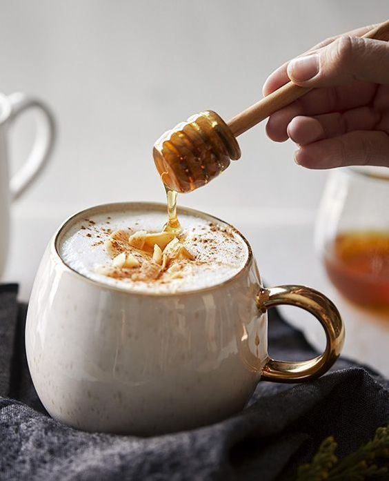 Honey Coconut Latte - Healthy Cookies Recipe