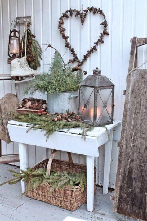 Skandinavische DIY Weihnachtsdeko und Bastelideen zu Weihnachten #christmasdeko