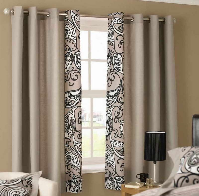Great Looking Short Curtains Home Design Window