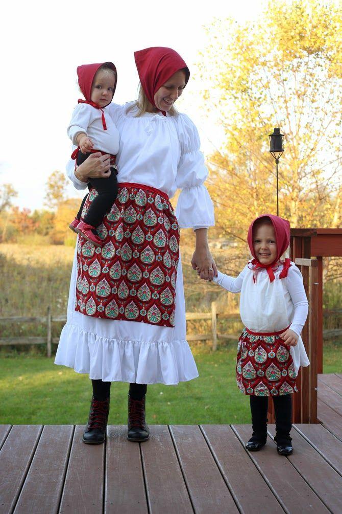 Costume Week Nesting Dolls Doll Halloween Costume Diy Costumes