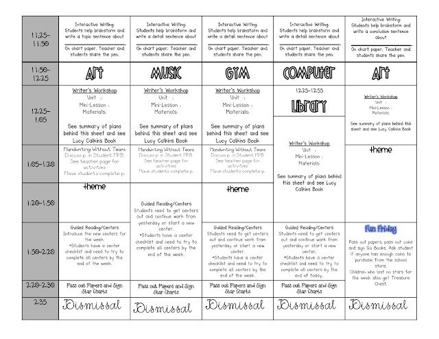 Lesson Plan Template 2 Beginning Of The Year Pinterest Lesson