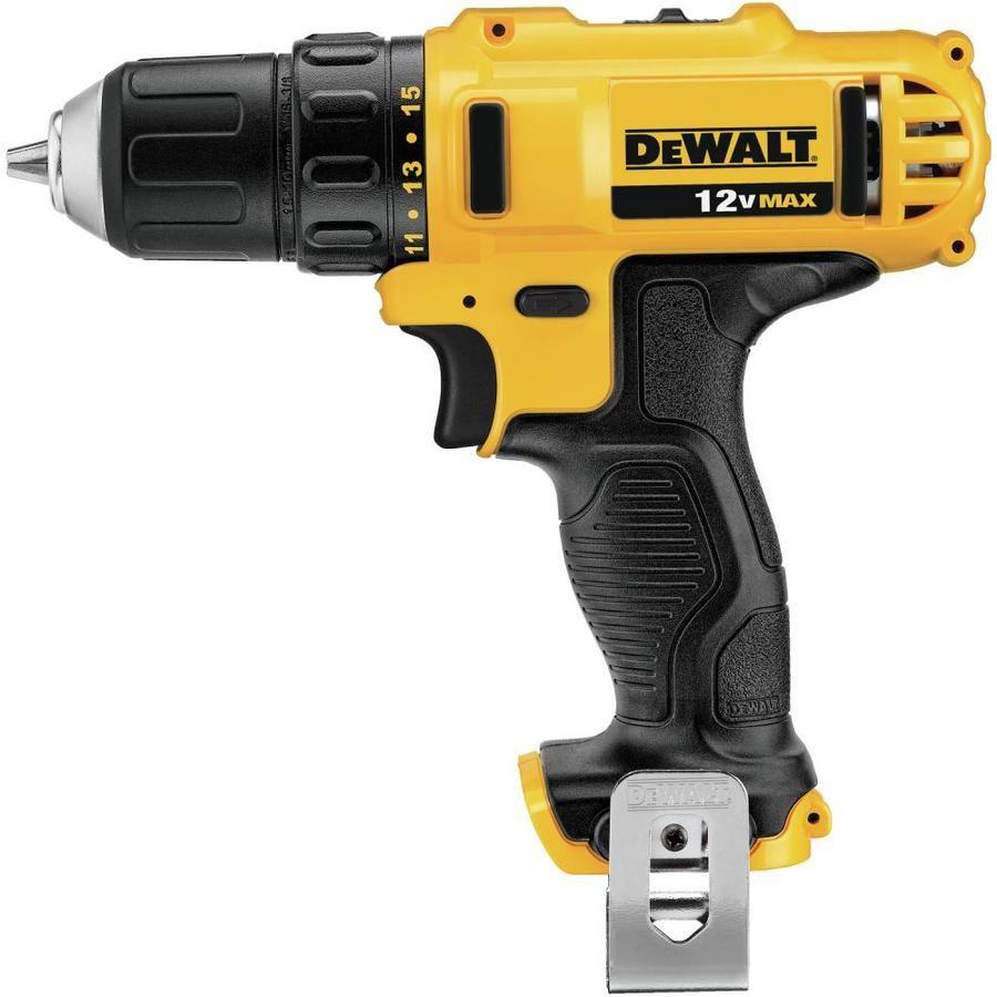 Dewalt 12 Volt Max 3 8 In Cordless Drill Dcd710b In 2020 Cordless Power Drill Drill Driver Cordless Drill