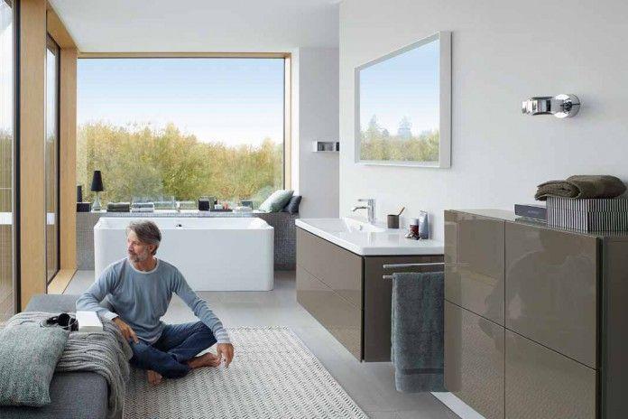 Bad mal anders. #Bad #Wohnen #Design Foto: Duravit // Mehr auf livvi.de