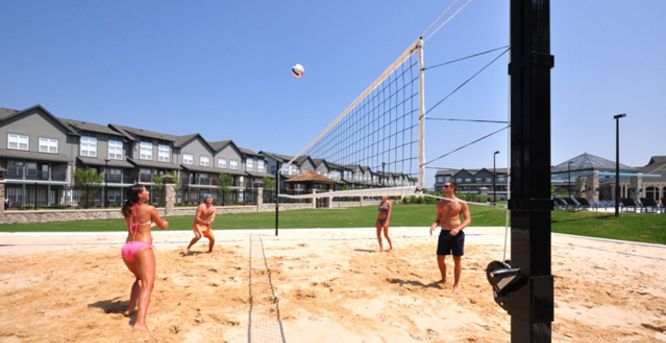 Volleyball Woodlands Of Columbia Student House Woodlands Village