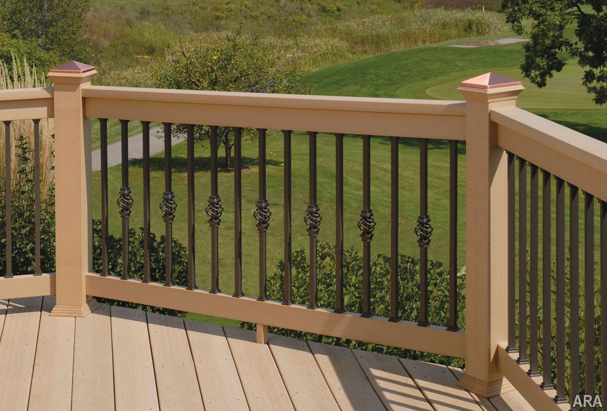 Best Deck Privacy Ideas Deck Railing Styles Home Exterior 400 x 300