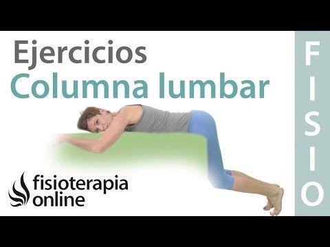Ejercicio De Tracción De La Columna Lumbar Para Hernia De Disco Youtube Ejercicios Lumbares Musculatura Abdominal Ejercicios