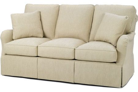Superbe 1598 80 Stanhope Sofa Wesley Hall W 79.5 D 42 H 40 #7Foot Skirted