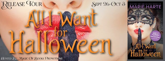 All I Want For Halloweenby Marie Harte Promote Book Party Gear Halloween Treats