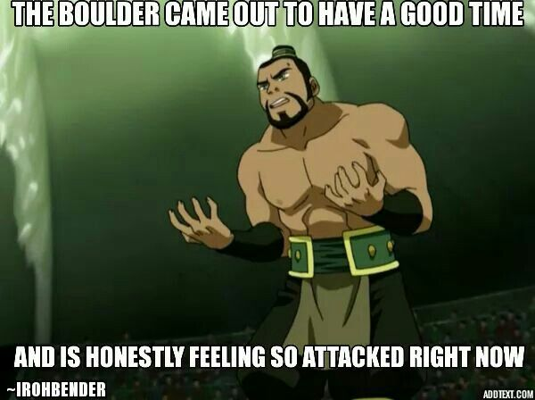 The Boulder Is Over His Conflicted Feelings Legend Of Korra