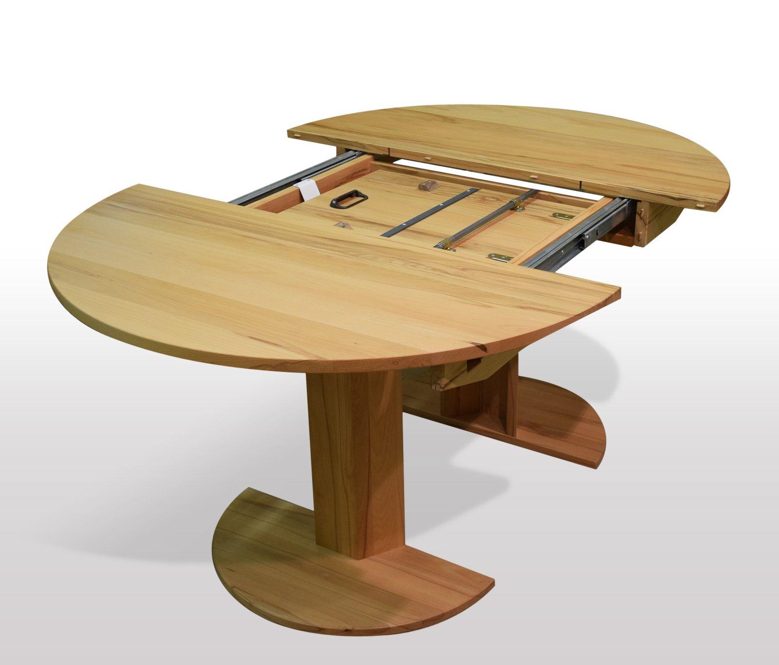 pin von auf runder esstisch kernbuche ausziehbar pinterest runde tische. Black Bedroom Furniture Sets. Home Design Ideas