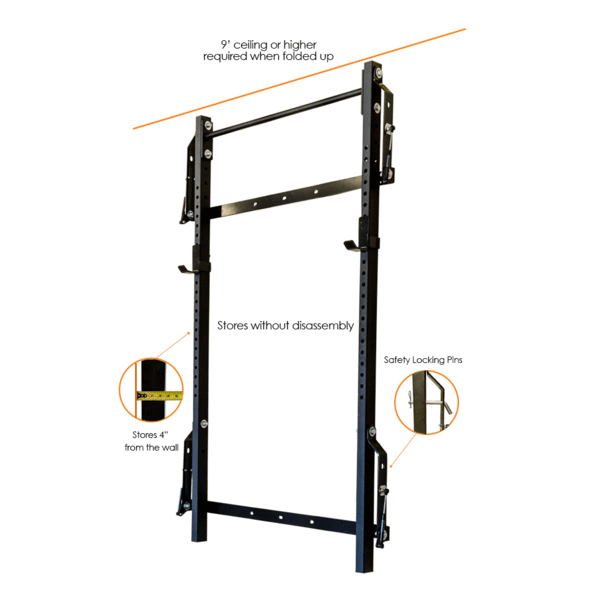Profile Squat Rack With Pull Up Bar Pull Up Bar Squat Rack Up Bar