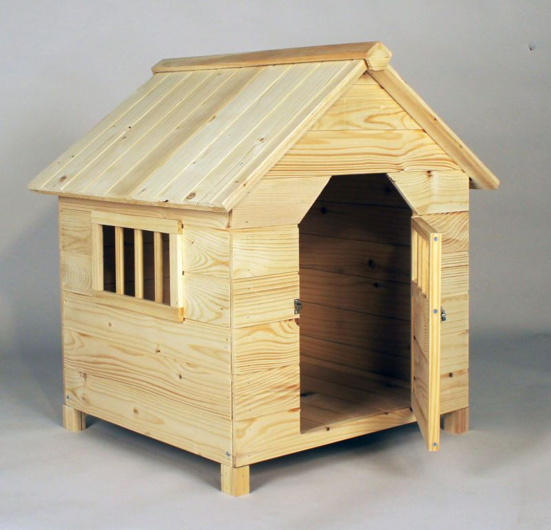 Dog House Wooden For Small And Medium Dogs Kennel Outdoor Home