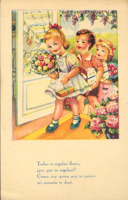 Imágenes vintage gratis / Free vintage images: Postales retro de ...
