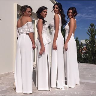 My Vision Of My Posse All Dolled Up Wedding Jumpsuit