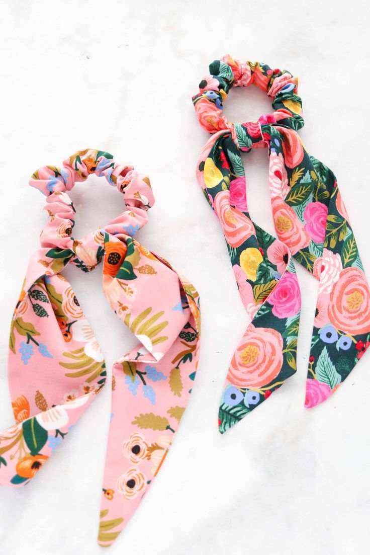 DIY How to Make A Scrunchie | Free Sewing Pattern – Sweet Red Poppy