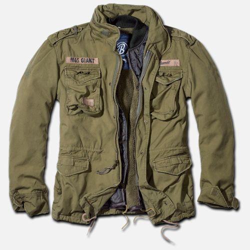 a293accb0d588 Brandit - M-65 Giant Olive - Chaqueta militar - Hombre