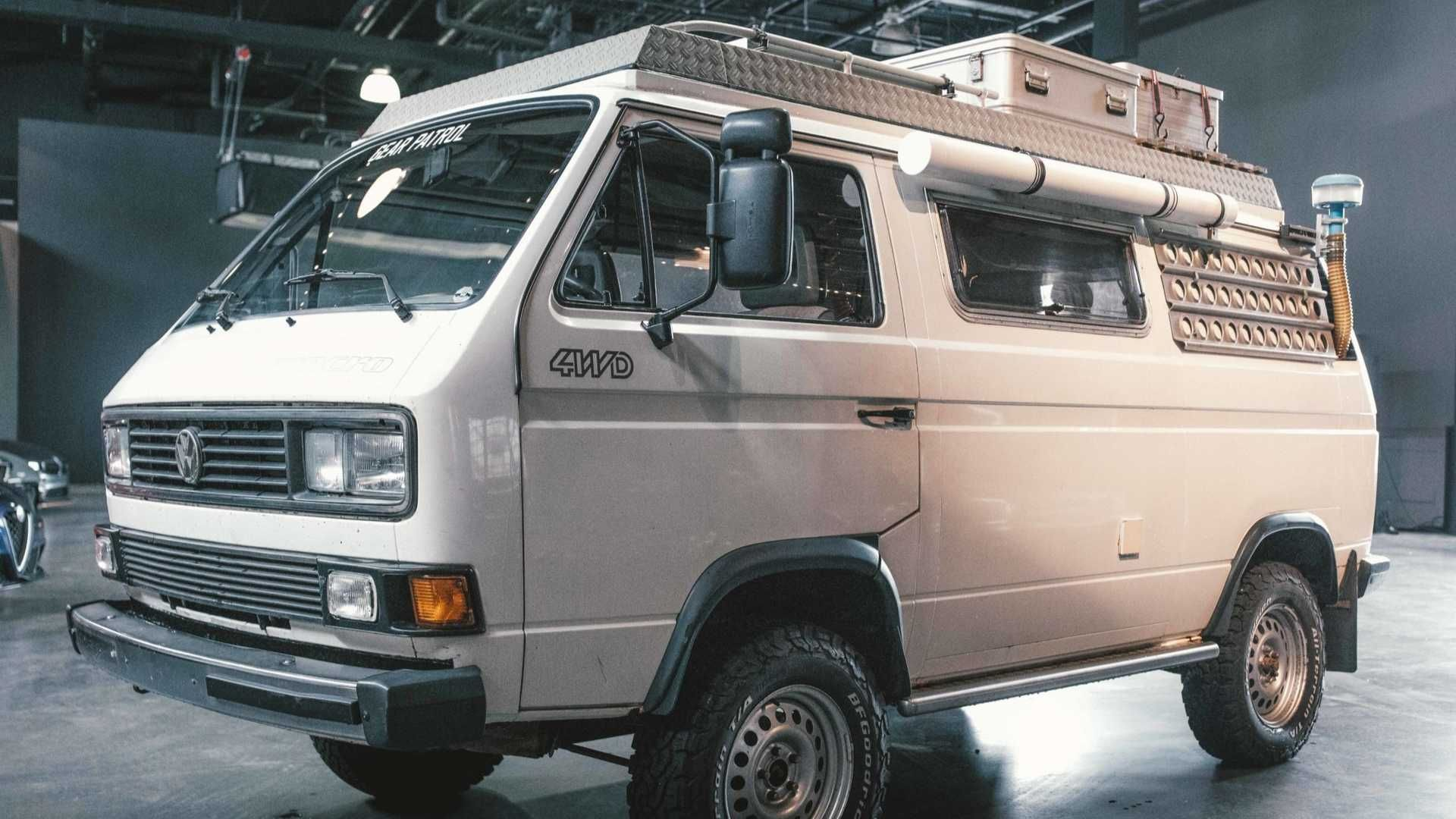 VW Vanagon Syncro Overlander Could Be Your Escape From Isolation