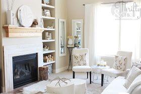 Redecorating my living room {reveal} #951ryecourt